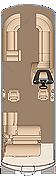 Grand Mariner SLEC 250 Twin Engine Floorplan