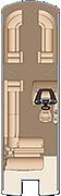 Grand Mariner SL 270 Floorplan