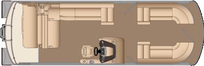 Grand Mariner SL 250 Twin Engine Floorplan