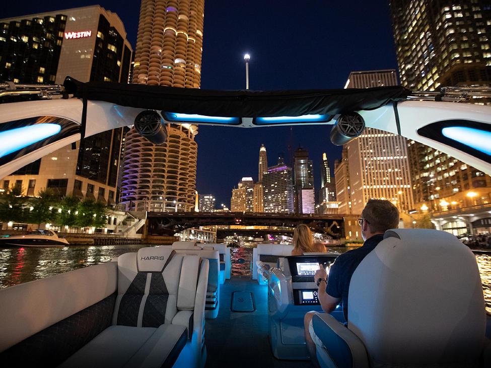 Grand Mariner 270 on Chicago River