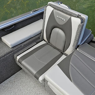 Impact XS Aft Jump Seat Starboard Side (Shown with Optional Aft Deck Sun Pad)