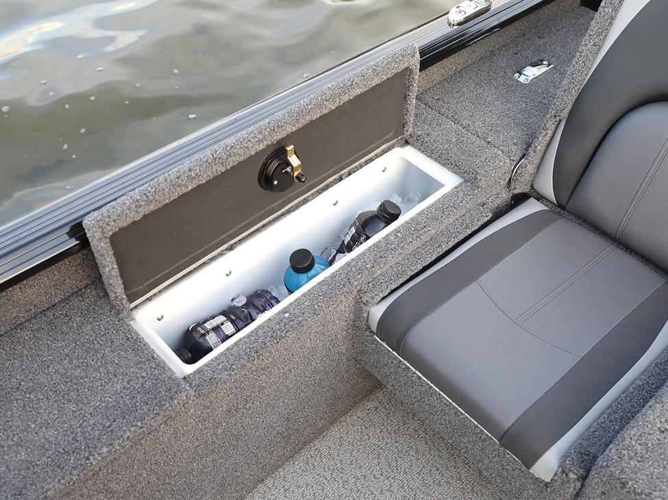 Impact XS Cooler Compartment