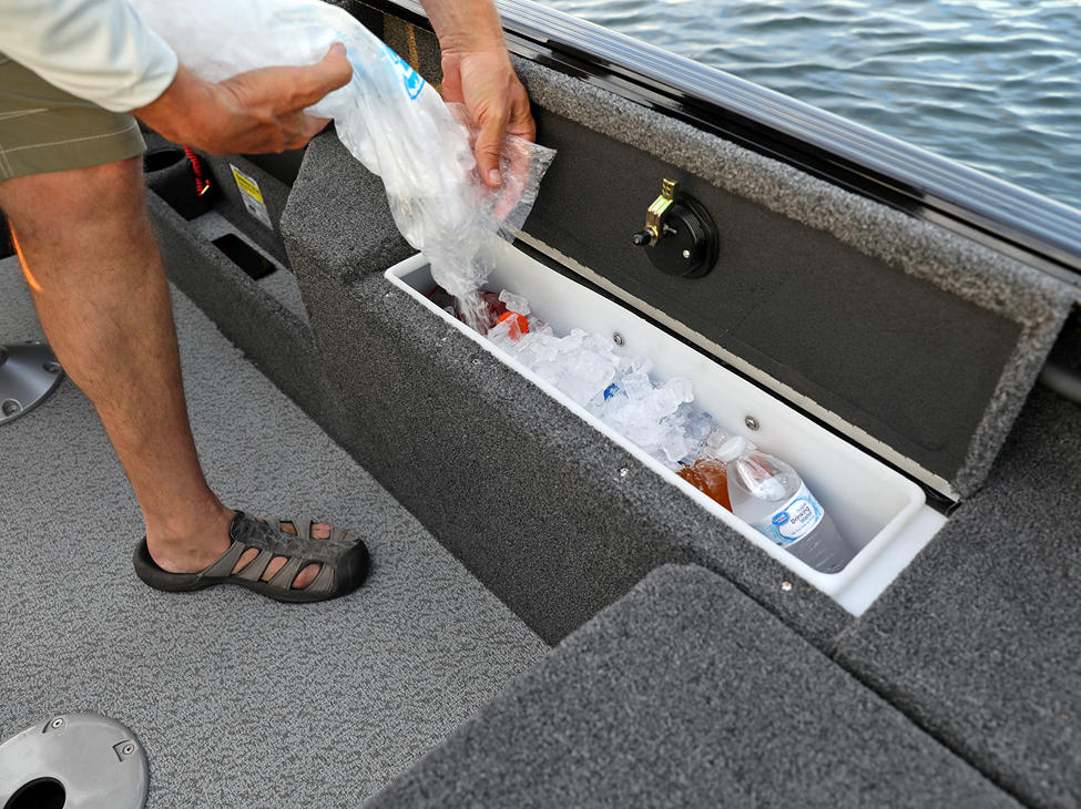 Impact XS Cooler and Dry Storage Compartment