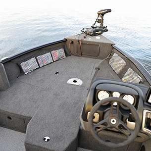 Impact XS SS Bow Deck Compartments Closed