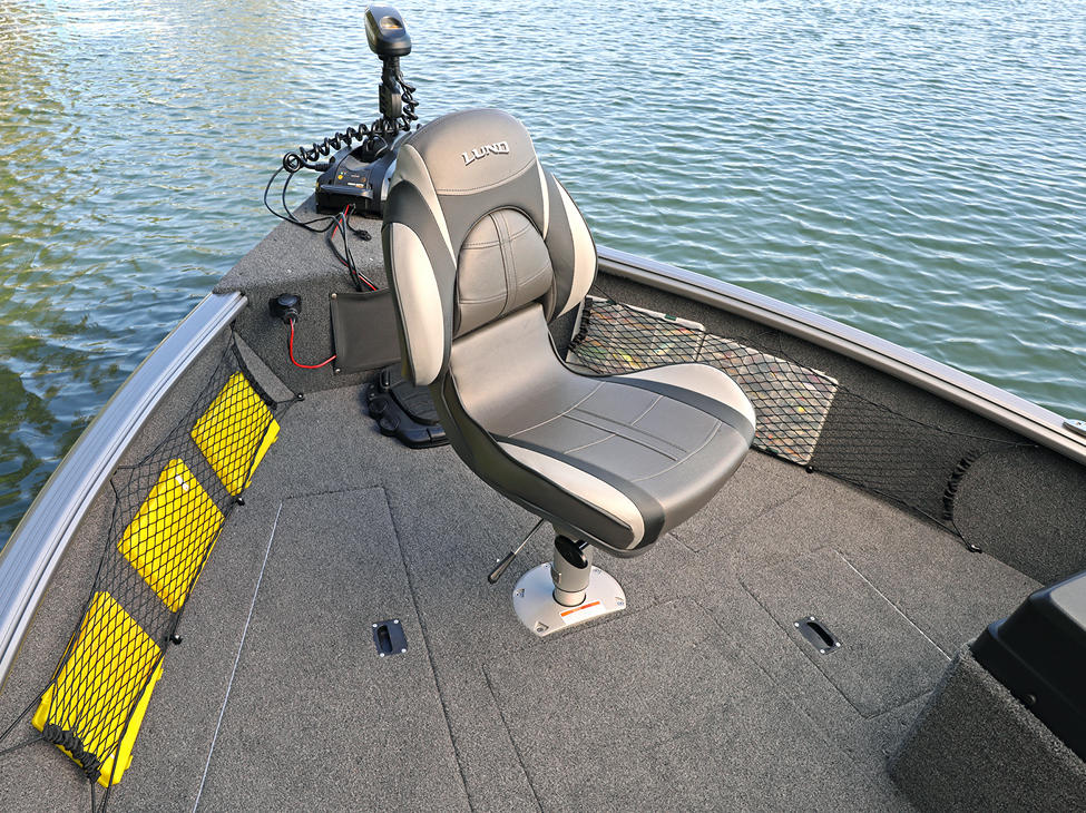 Impact XS SS Bow Deck with Seat