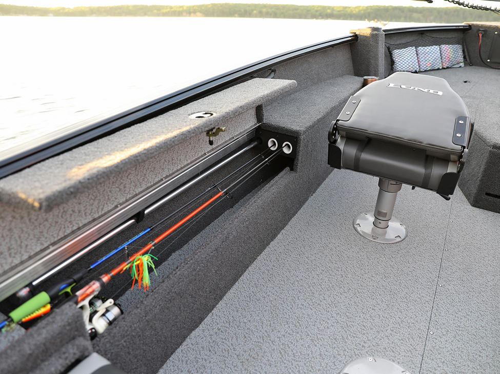 Impact XS SS Port Rod Storage Compartment Open