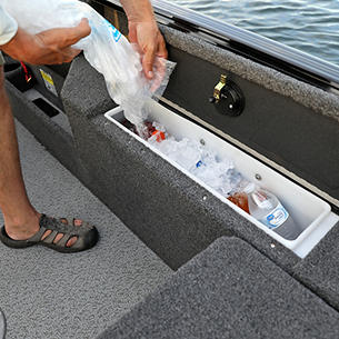 Impact XS Starboard Cooler and Dry Storage Compartment