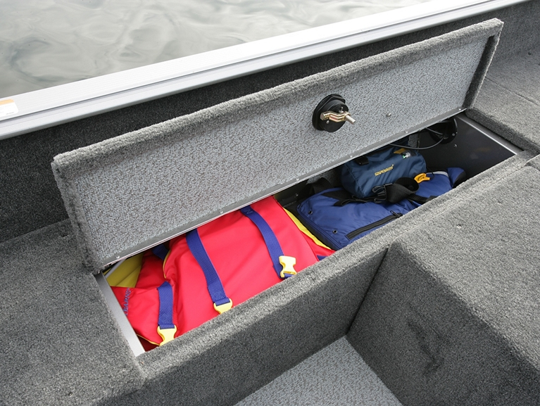 Impact Aft Starboard Storage compartment