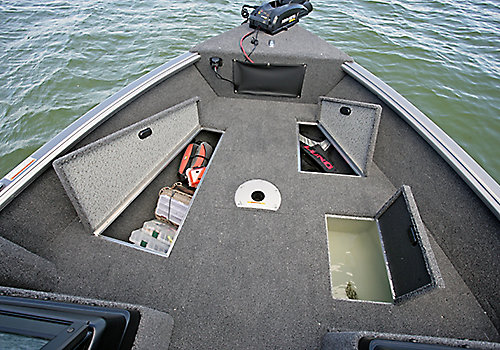 Impact Bow Deck Storage Compartments