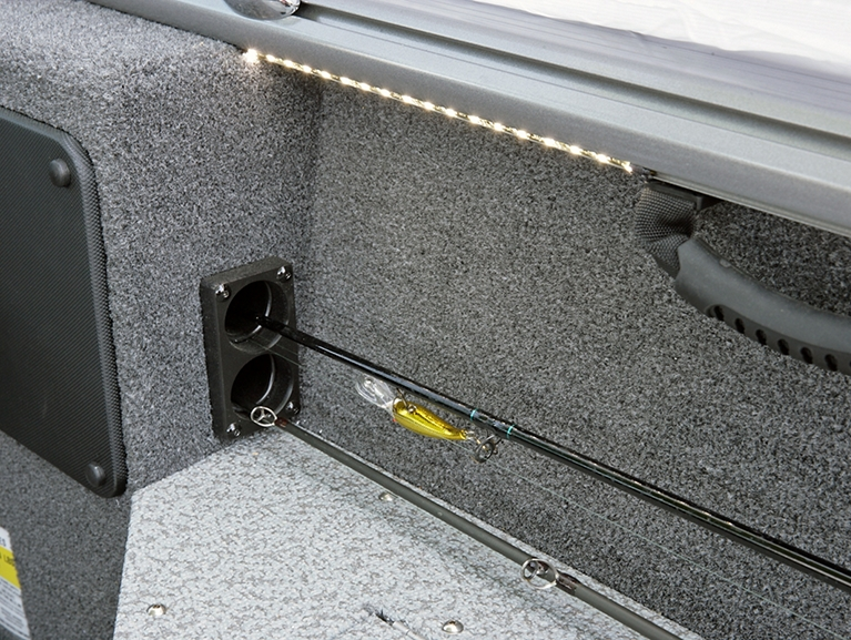 Impact Optional Starboard On-The-Go Rod Storage