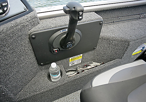 Impact XS Command Console Storage Cubby and Drink Holder