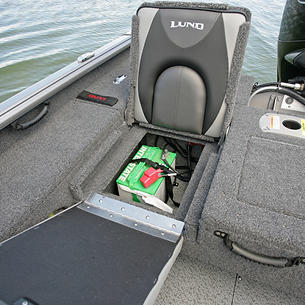 Impact XS Under Jump Seat Battery Storage