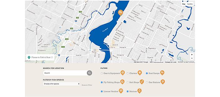 Lowe Blog TAKEMEFISHING ORG INTERACTIVE MAP FOR FISHING RECREATION