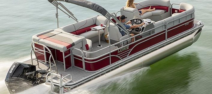 Lowe Boating Safety Tips THE RULES OF PROPER PONTOON BOATING