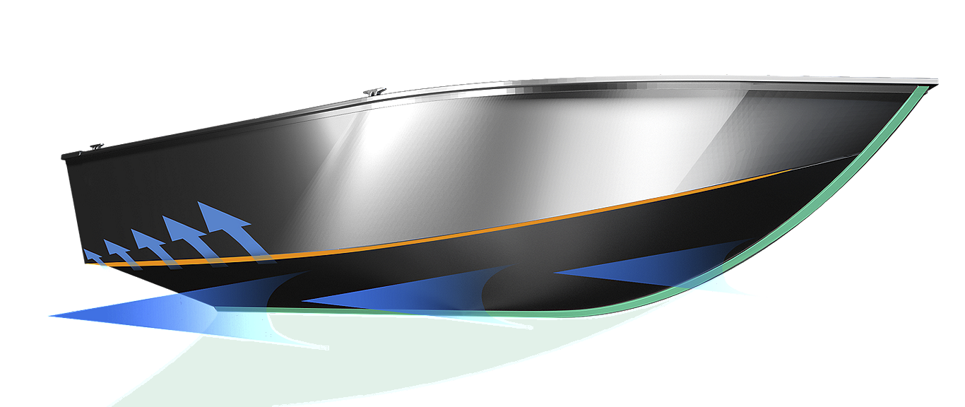 Lowe_Construction_deep-v_v-tech-hull-design