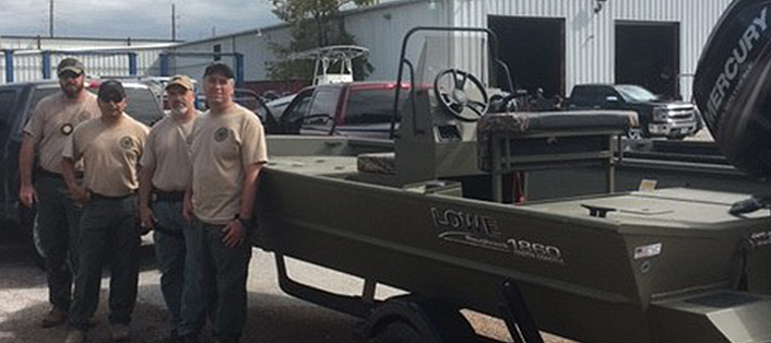Lowe HuntingBoats BRUNSWICK PEOPLE PRODUCTS SHINE IN HURRICANE RELIEF EFFORTS
