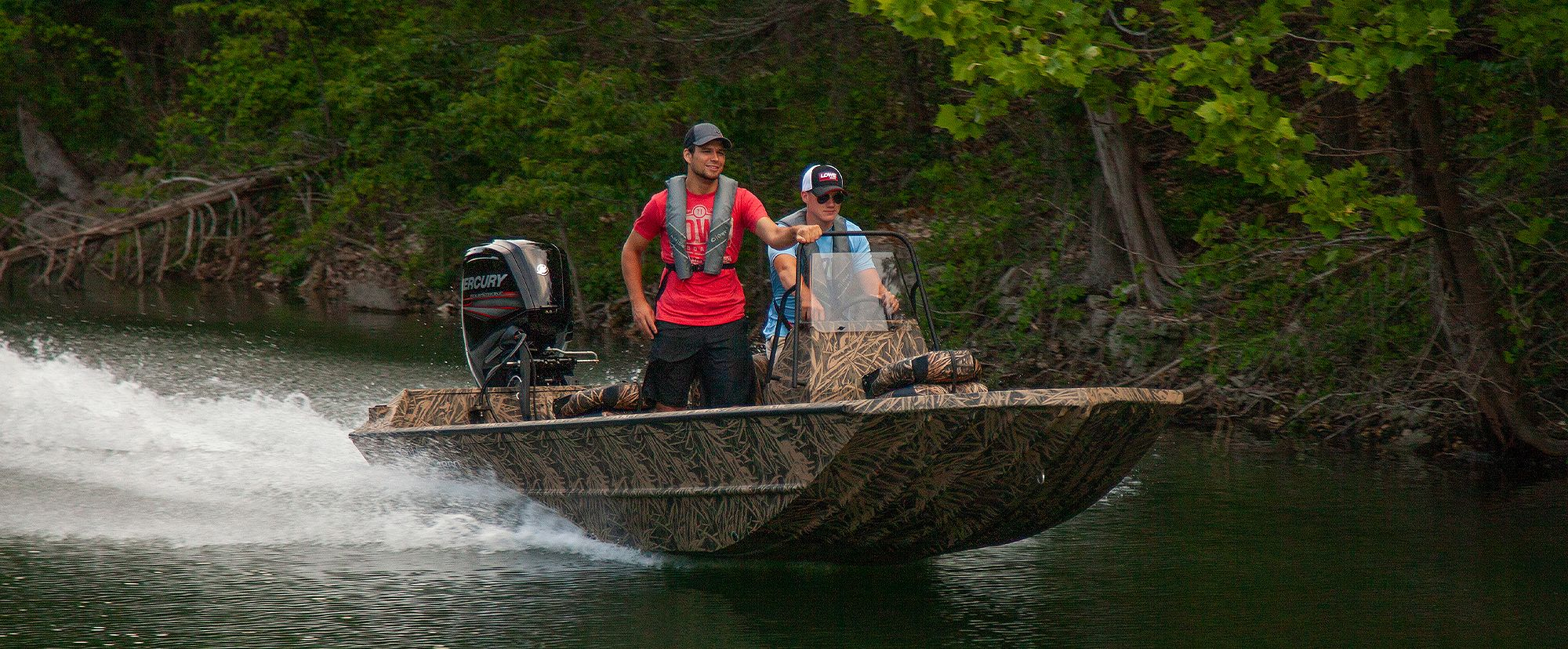 Lowe Boats RX18PT Hero Image