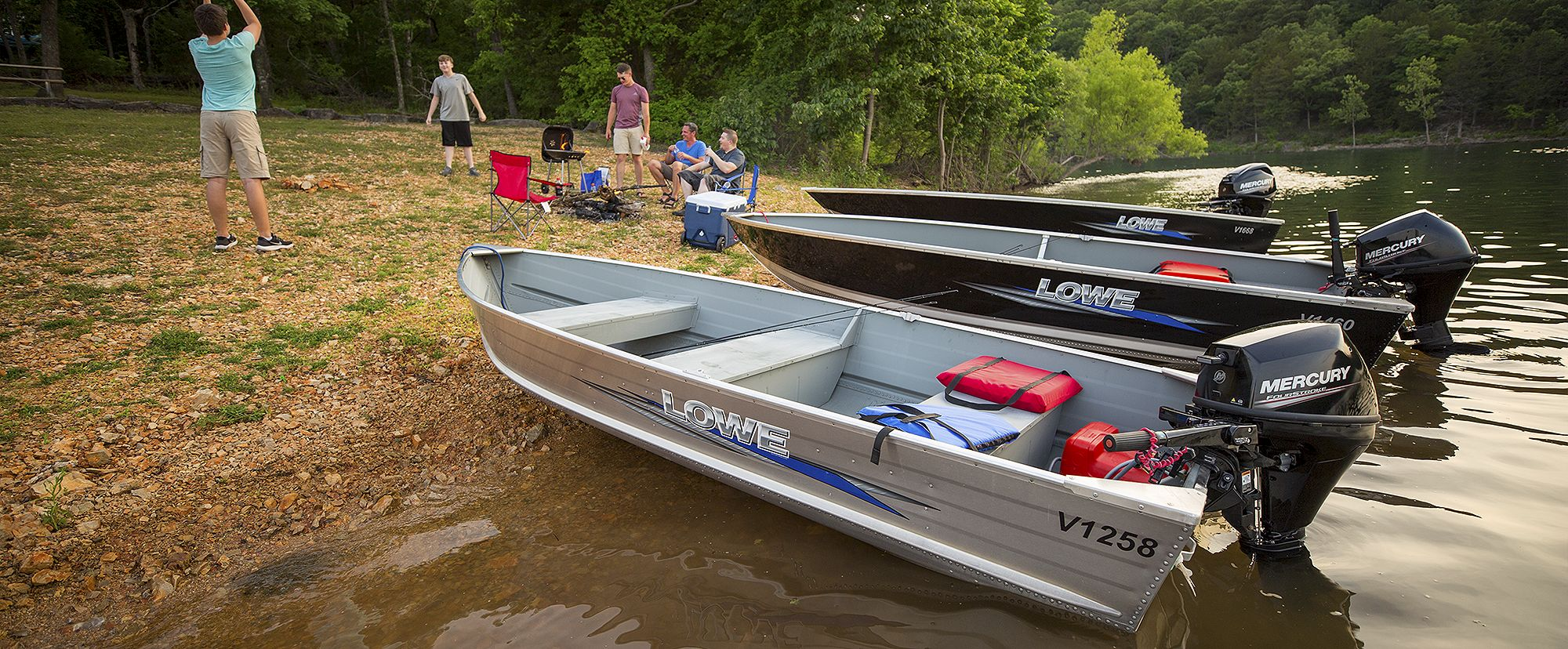 Lowe Boats Utility Hero Image