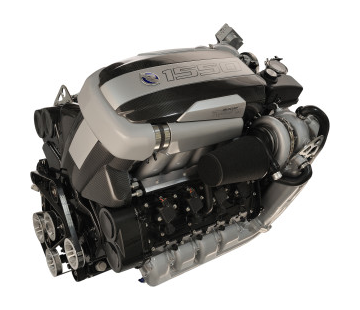 Mercury 1550 Engine Top Angle