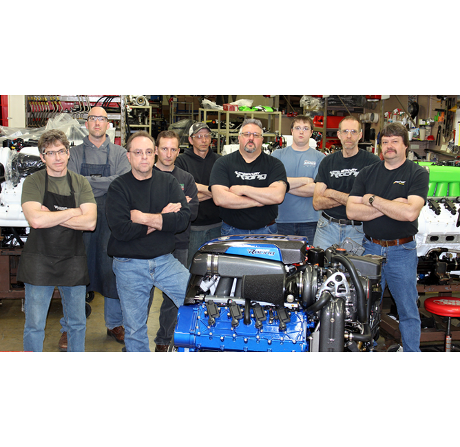 Nine Men Competition engines workshop