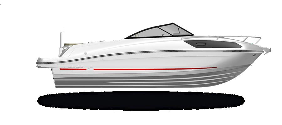 VR6 Cuddy Outboard