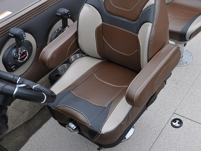 Optional Suspension Seat - Beige