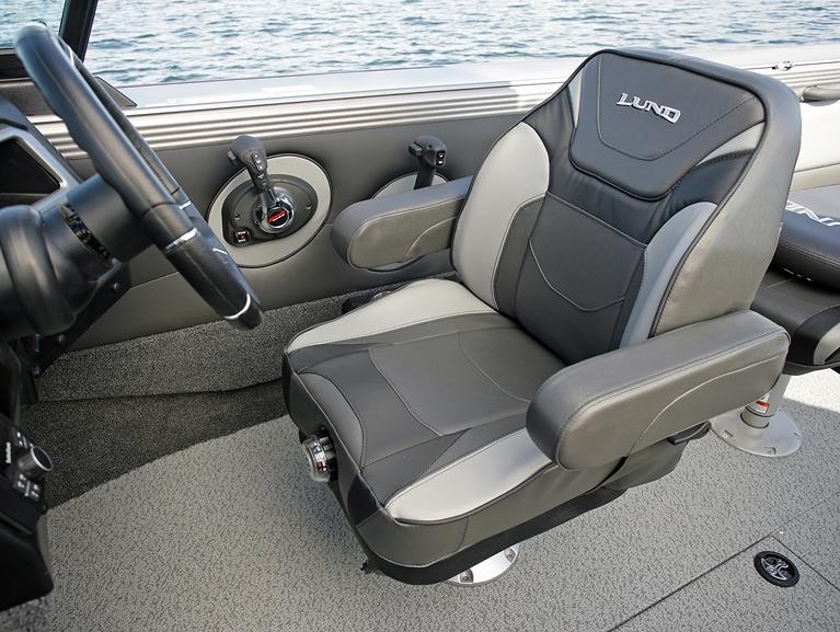 Optional Suspension Seat - Grey