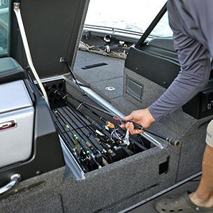 Pro-V Limited Center Rod Storage