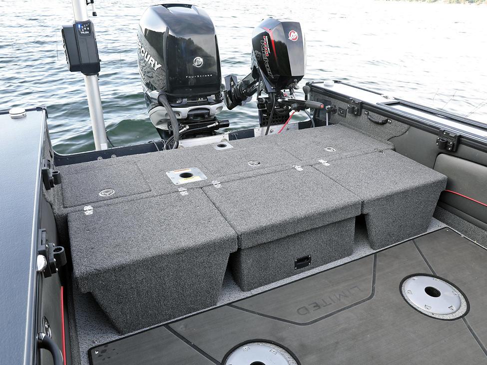 Pro-V Limited Multi-Part Aft Flip Bench - Flipped Down