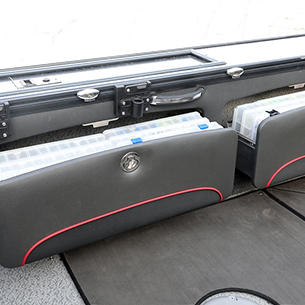 Pro-V Limited Port Storage Drawers Open