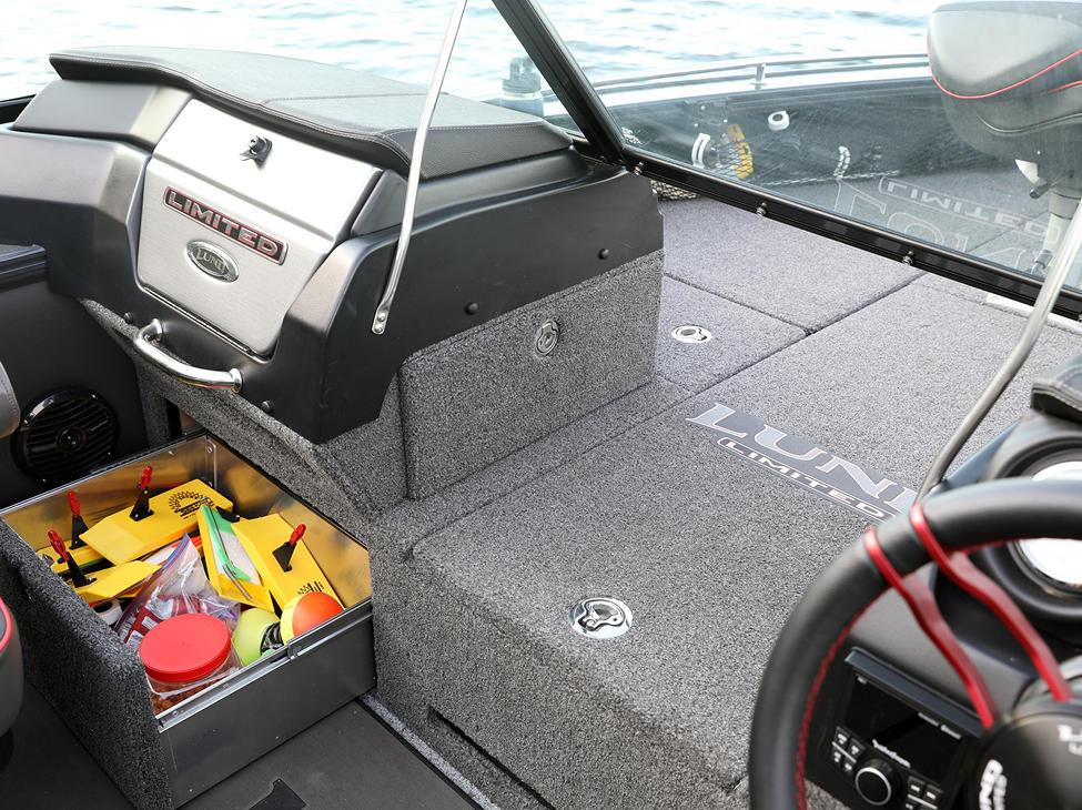Pro-V Limited Under Console Storage Drawer - Port