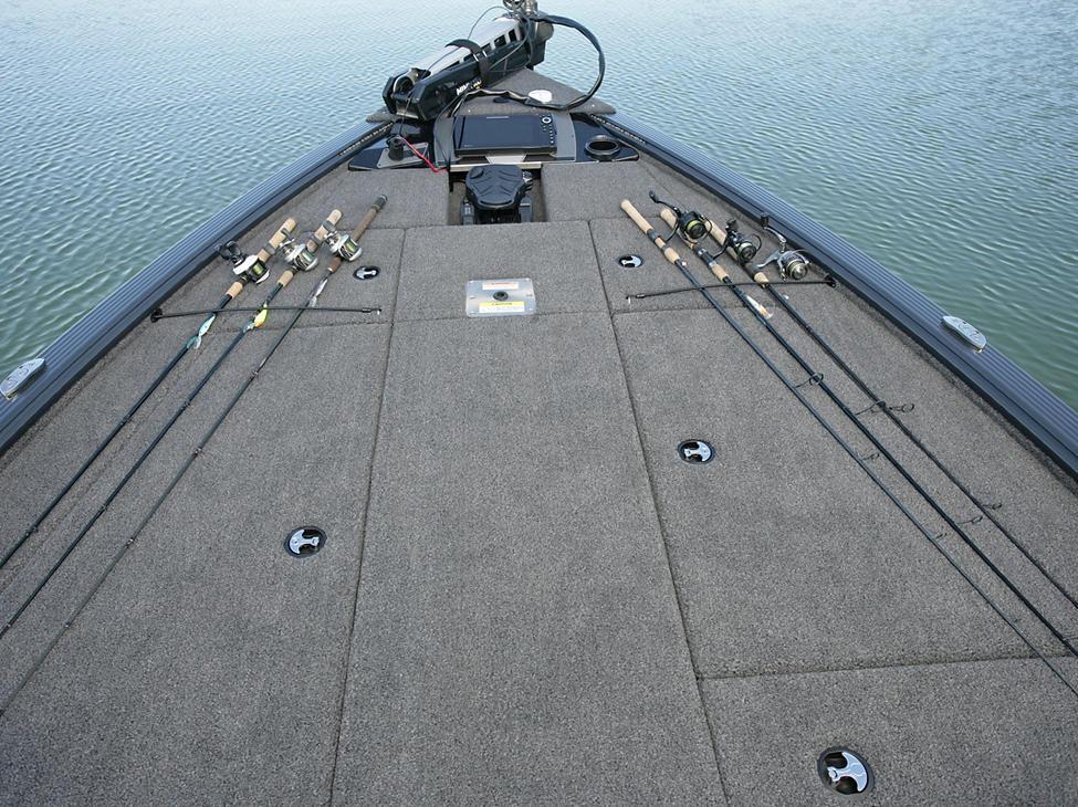 Pro-V Bass Bow Deck Rod Straps