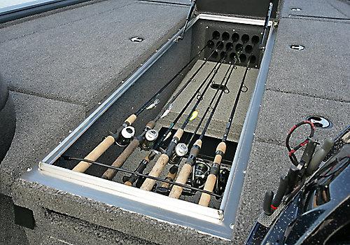 Pro-V Bass Center Rod Storage