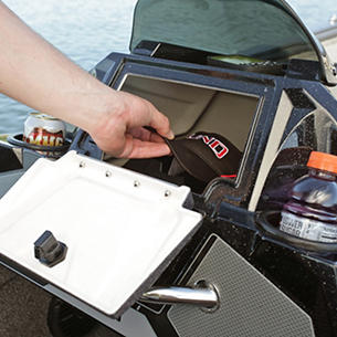 Pro-V Bass Optional Port Console Glove Box Storage Compartment