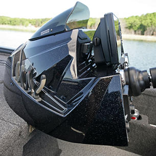 Pro-V Bass Starboard Console with Integrated Tool Holder