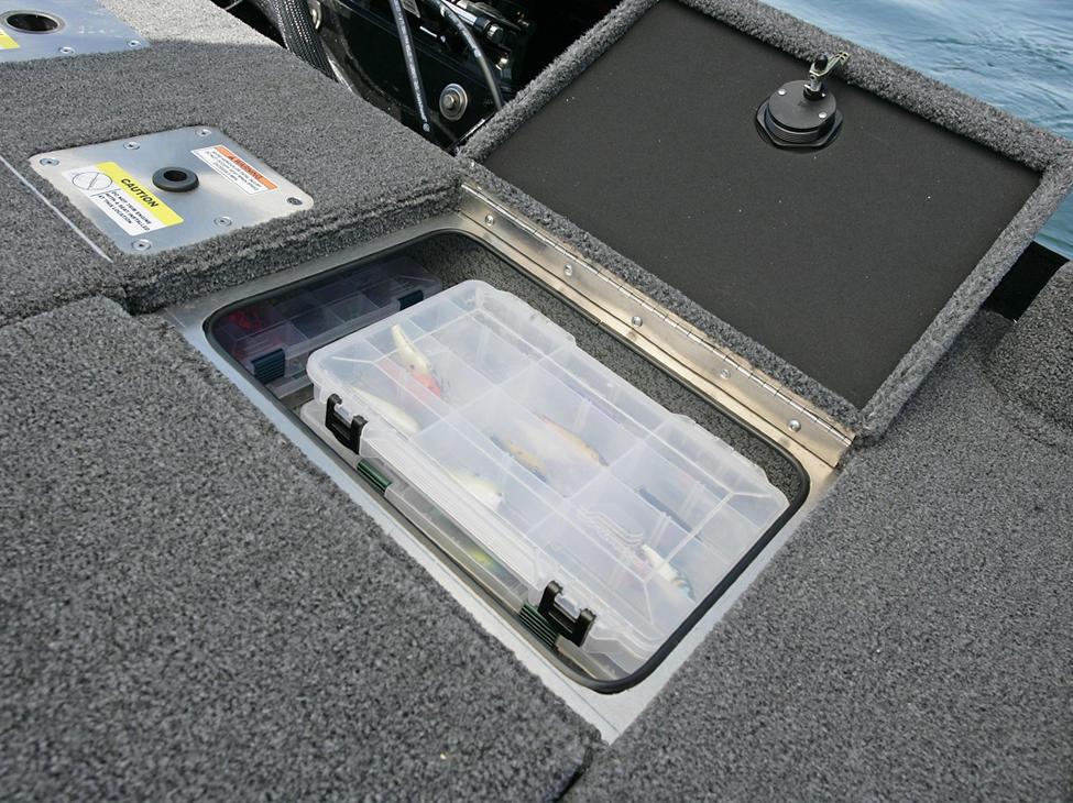 Pro-V Bass XS Aft Deck Storage Compartment