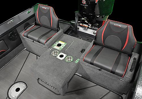 Pro-V Limited Optional Multi-Part Aft Flip Seat - Both Up