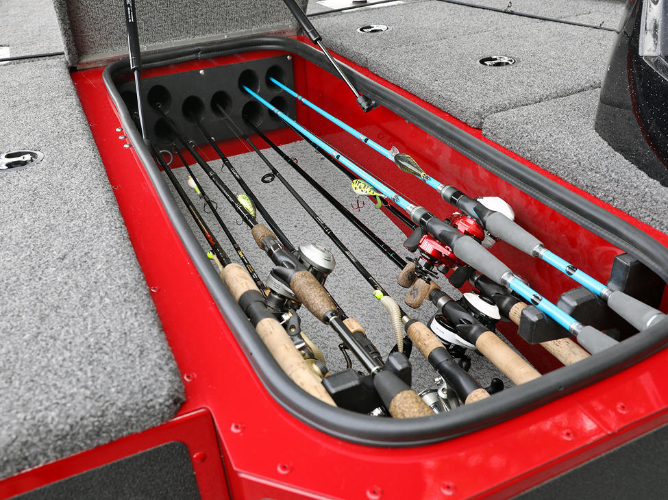Renegade Center Rod Storage Compartment