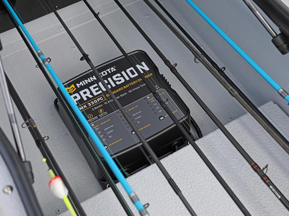 Renegade Optional Minn Kota Battery Charger