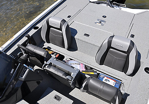 Renegade Bench Storage Compartment Open