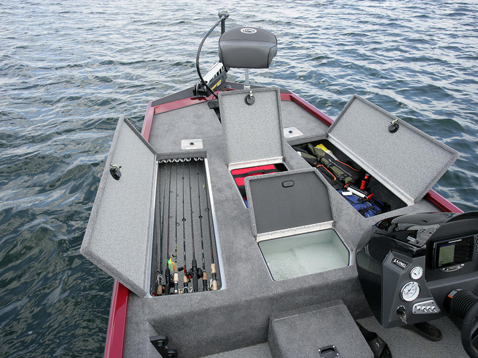 Renegade-Crappie-Option-Bow-Deck-Storage-Compartments-and-Livewell-Open.