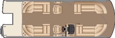 Solstice CWDH 230 Floorplan