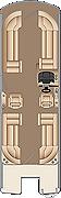 Solstice CWDH 250 Floorplan