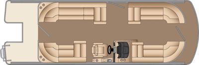 Solstice CW 230 Floorplan