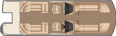 Solstice DC CWDH 250 Floorplan