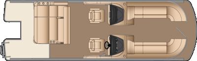 Solstice DC SLDH 250 Floorplan