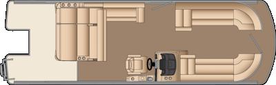Solstice SL 250 Floorplan