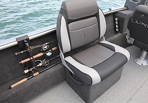 Sport Angler Optional Side Seat Open