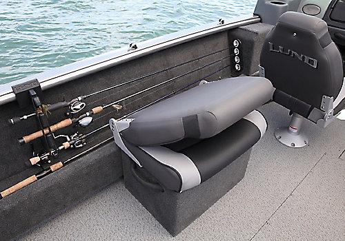 Sport Angler Optional Side Seat Storage Closed