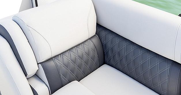Sunliner Seat Detail in Moonlight Gray